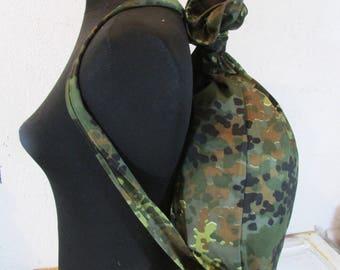 Military Backpack - Army Backpack - Vintage Haversack - School Bag - School Backpack - Messengr bag - Military Rucksack