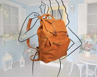 Large women's backpack,Large Leather backpack,Extra Large Leather Rucksack,Laptop Backpack,leather rucksack women,college backpack for women