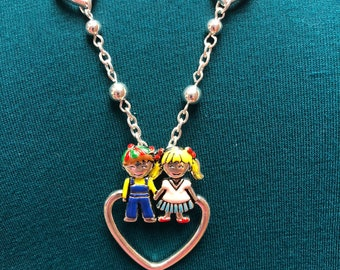 Kids and Heart Lanyard