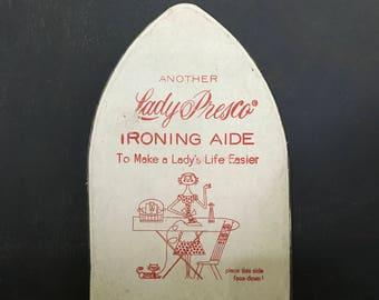 Lady Presco ironing aide