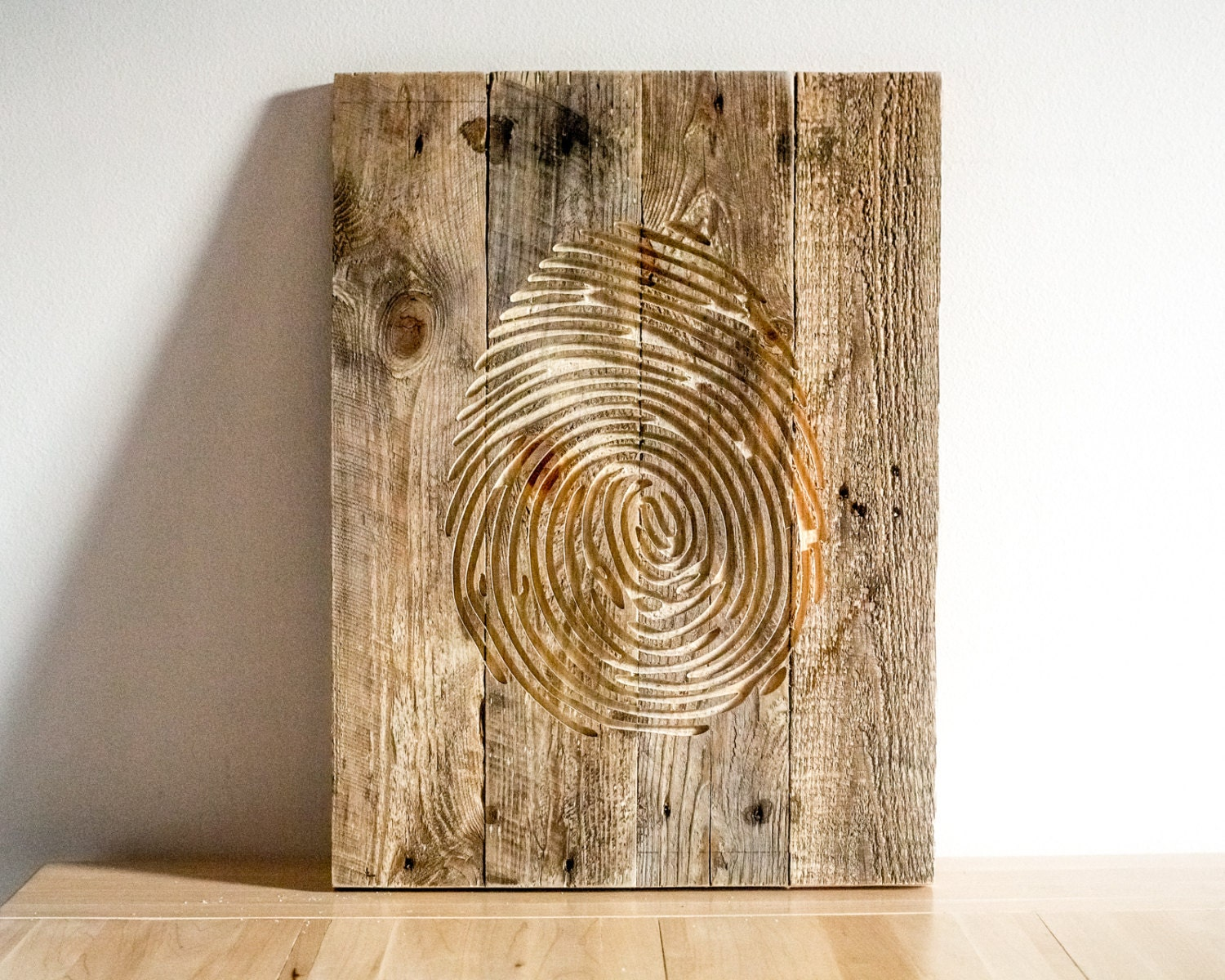 Carved Wood Wall Art Decor Inspiration Fingerprint Wall Art  Carved Wooden Wall Hanging For A 2018