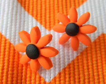 Gerbera Hypoallergenic Stud Earrings