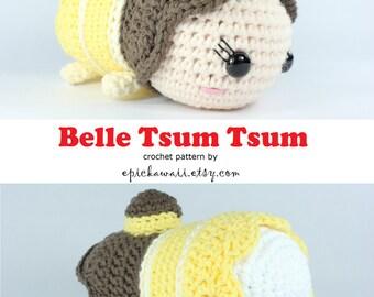 Tsum Tsum Amigurumi Pattern Free : Belle tsum tsum etsy