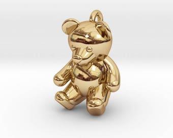 Teddy Bear Pendant / Charm