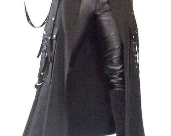 Bondage overlay skirt
