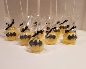 """Cake pops """"Batman Inspired"""" (Order of 13)"""