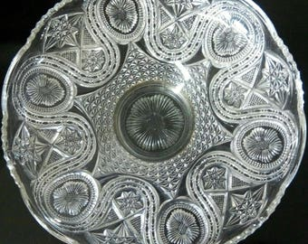 Beautiful early 20th century Crystal Compote
