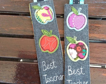 Handmade book mark teacher gift