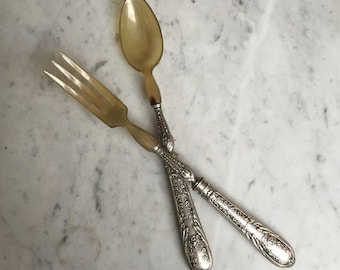 Plated Serving utensils