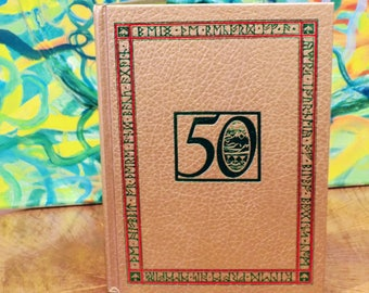 "50th Anniversary Gold Edition of ""The Hobbit"" written by J.R.R. Tolkein"