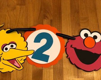 Sesame Street inspired Party Banner
