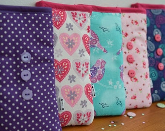 Lilacs, Green & Pinks Print - Apple iPod Sock - Various Sizes for all Models