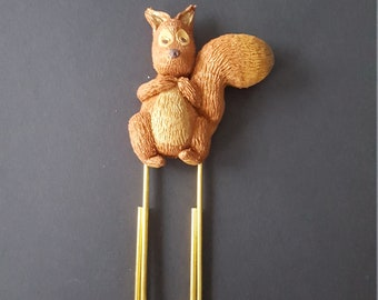 Squirrel bookmark