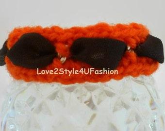 Woven Bracelets, Bracelet, Chain Link Bracelet, Army Mom Bracelet, Army Mom, Kabbalah Bracelet, Bohemian Bracelet, Bracelet Orange/Brown