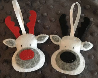 Set of 2 reindeer for Christmas tree