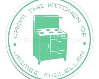 Retro Kitchen Stickers