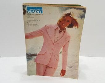 1973 Montgomery Ward Spring Summer Vintage Catalog