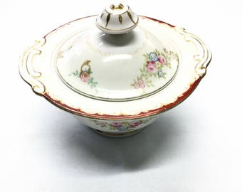 Small China Serving Bowl.