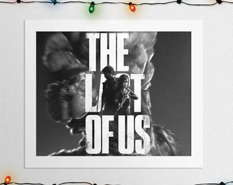 The LAST OF US, The Last Of Us Poster, Joel and Ellie, Joel print, Ellie print, Game Poster, Art, Print, Digital Print