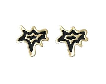 Splatter Earrings