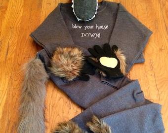 Big Bad Wolf Costume Set