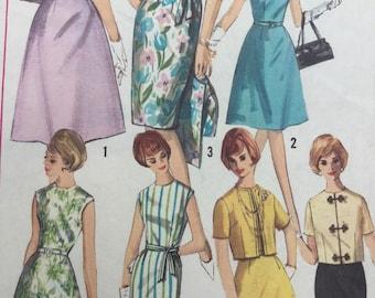 Sewing Pattern -  Dress Pattern -  Skirt Pattern  -  Jacket Pattern -  Size 14, Bust 34 - Vintage Sewing Pattern -  pattern for dress