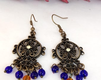 Retro Bohemian earrings
