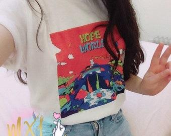 Hope World J-Hope mixtape hixtape // BTS Kpop T-shirt
