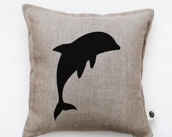 Decorative pillow cover - linen pillow - pillow case - cushion cover - accent pillow - home decor - sofa pillow cover 0346