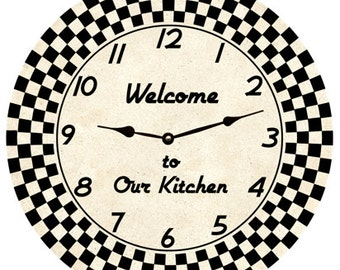 Retro Clock- personalized clock
