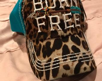 Born Free - Leopard/Aqua