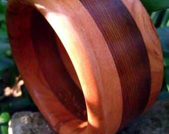 "SALE Western Cedar Bracelet Bangle by ""DENHAM"" Size Medium"