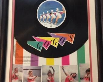 "Framed Art - Go-Gos ""Vacation"" Album"