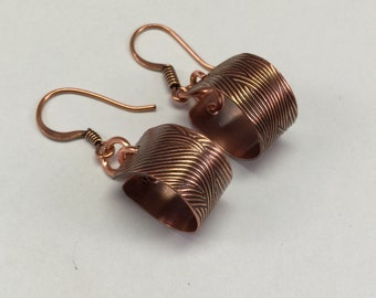 Copper Earring Loop