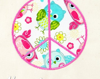 Peace Sign Applique Embroidery Design, peace applique, love applique, machine embroidery, applique, hippie, peace embroidery, peace signs