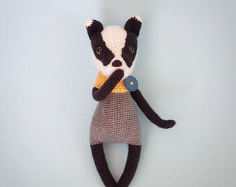 Amigurumi Badger