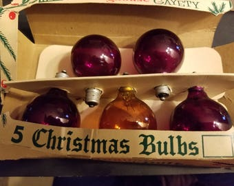 vintage  Christmas tree lights WESTINGHOUSE GAYETY 1930-40's old store stock