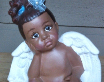 Lil Sitting Angel Girl
