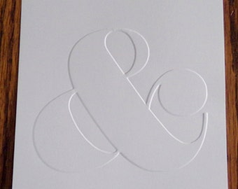 AMPERSAND Embossed Card Stock Panels Perfect for Scrapbooking and Card Making - Set of 12