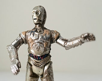 C-3PO Star Wars Droid Toy, Star Wars Gift for Boys or Girls, Star Wars Action Figure with Removable Arm