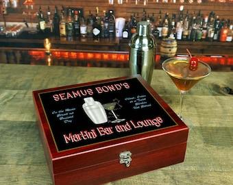 Personalized Martini Set BarMRT01_4