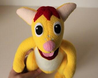 Kangaroo Fleece Toy