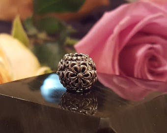 Pugster Sterling Silver Flower European Charms (10 styles)