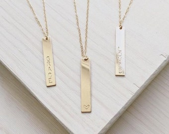 The Aria Necklace| 14k Gold Filled Necklace | Personalized Jewelry