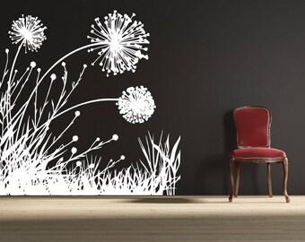 14 original patterns dandelions for interior design SVG PNG AI