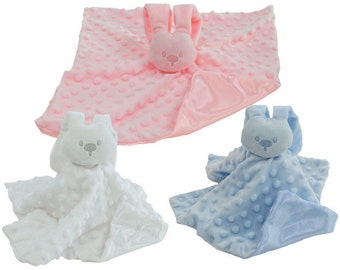 Personalised embroidered Baby Comforters