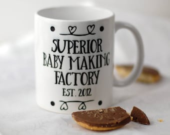New Parent Personalised Mug For New Baby First Mother Day New Baby Gift New Parent Gift Gift for New Mum Pregnancy Gift Baby Shower Gift