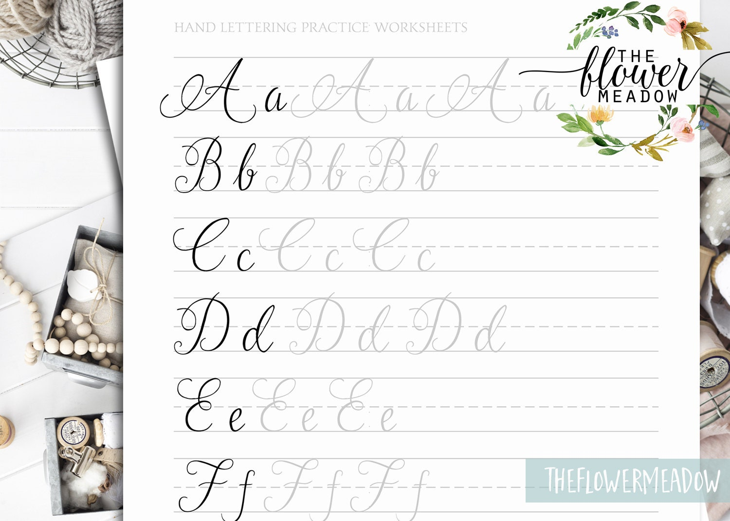 Calligraphy tutorial learn hand lettering guide