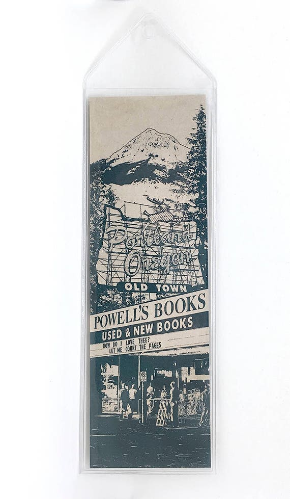 Portland Icon Artisan Bookmark