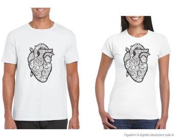 Heart-mandala T-shirt